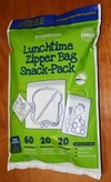 Lunchtime Zipper Bag Snack Pack