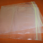 Clear zipper bags