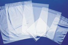 Self Seal Bags - self sealing glue strip bags.